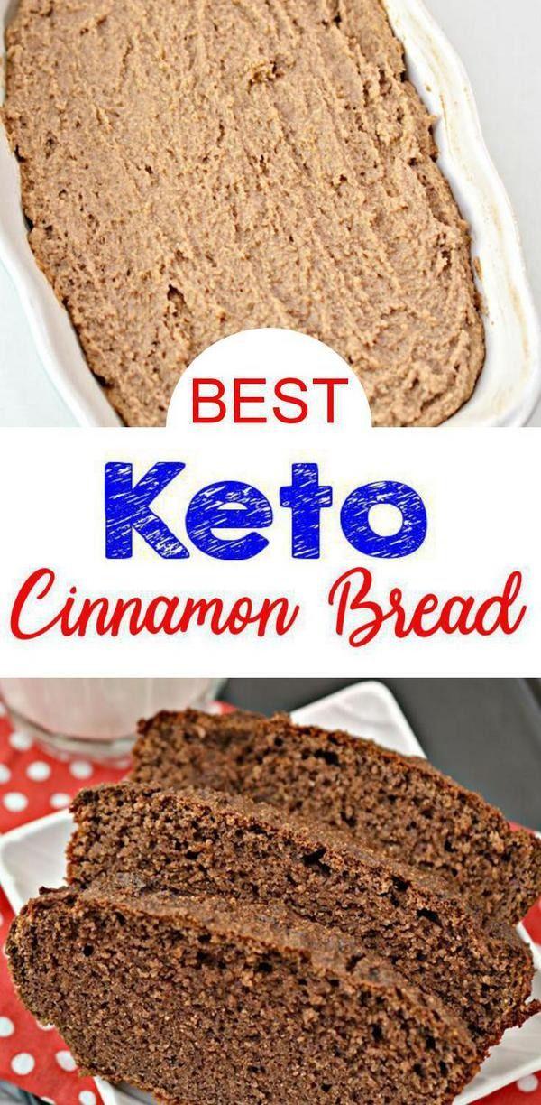 Keto Low Carb Cinnamon Bread | KETO | Keto, Low carb