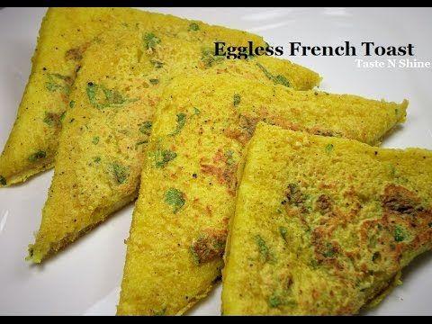 French toast -  Eggless | Easy breakfast recipe for vegans