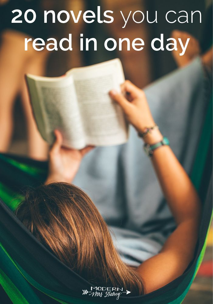 20 Short Novels You Can Read In One Day Modern Mrs Darcy Short Novels English Novels Books Short Books