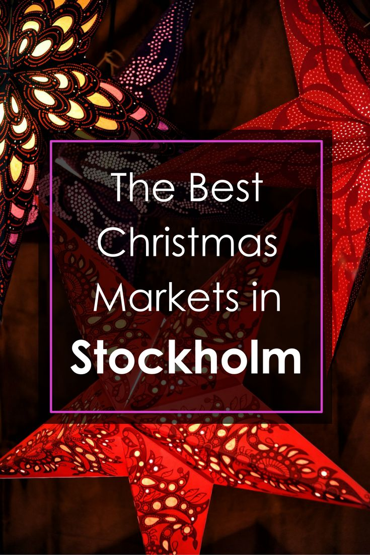 A Guide to the Very Best Christmas Markets in Stockholm, Sweden! | Click through for full Guide || Slow Travel Stockholm