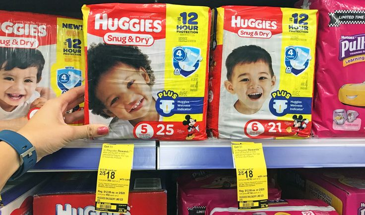 Huggies Diapers, Pull-Ups & Poise, Only $0.25 Each at Walgreens! Week 7/2