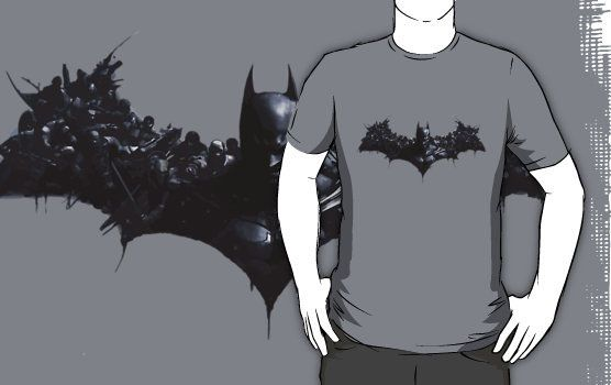 Batman Arkham Origins T-shirt Design