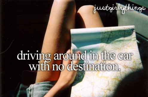 Loves long drives.