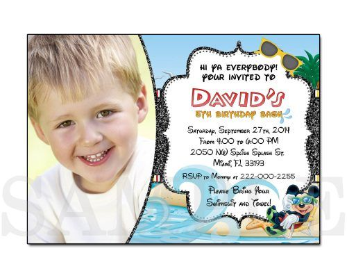 48 best boys birthday party invitations images on pinterest mickey mouse birthday party invitations stopboris Image collections
