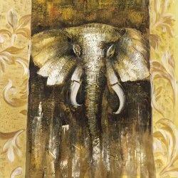 African Elephant! Handmålad elefant tavla som verkligen ger hemmet det lilla extra! Låt dig inspireras av denna safari inspirerade tavlan och framförallt; Må bra med detta motiv och unna dig ett fint hem, för det är trots allt där du spenderar mest tid i ditt liv.  Länk till produkt: http://www.feelhome.se/produkt/african-elephant/  #Homedecoration #Canvas #olipainting #Painting #handpainted #interiordesign #canvastavla #canvastavlor #african #djur #elefant #safari #vardagsrum #kontor…