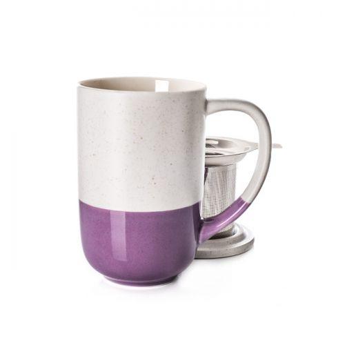 Lilac Dipped Nordic Mug