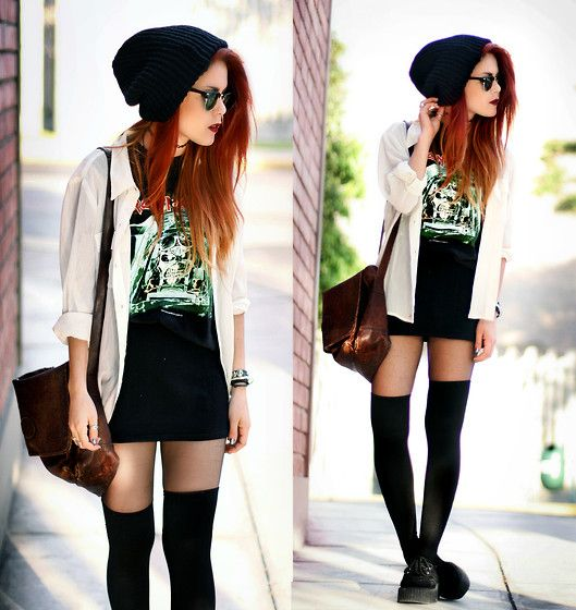 Aces High (by Lua P) http://lookbook.nu/look/3072505-Everything-Is-Second-Hand-Aces-High