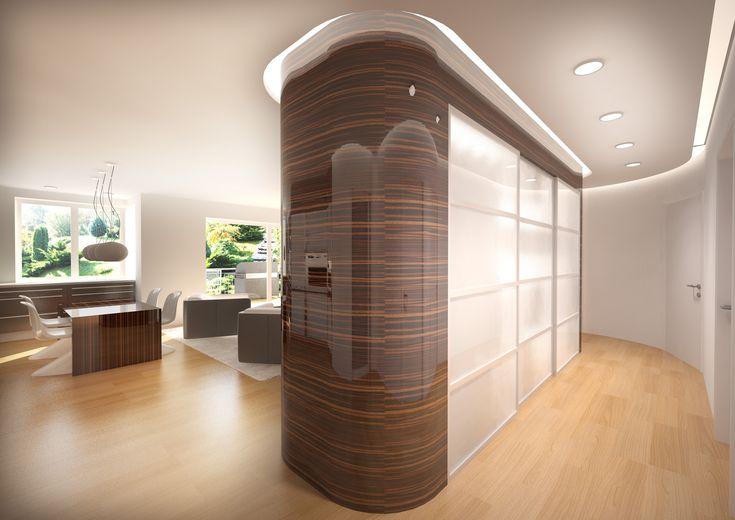 Egyedi bútorok - látványterv / Custom furniture - architectural visualization