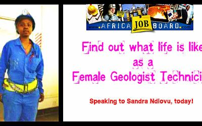 The life of a female Geologist Technician