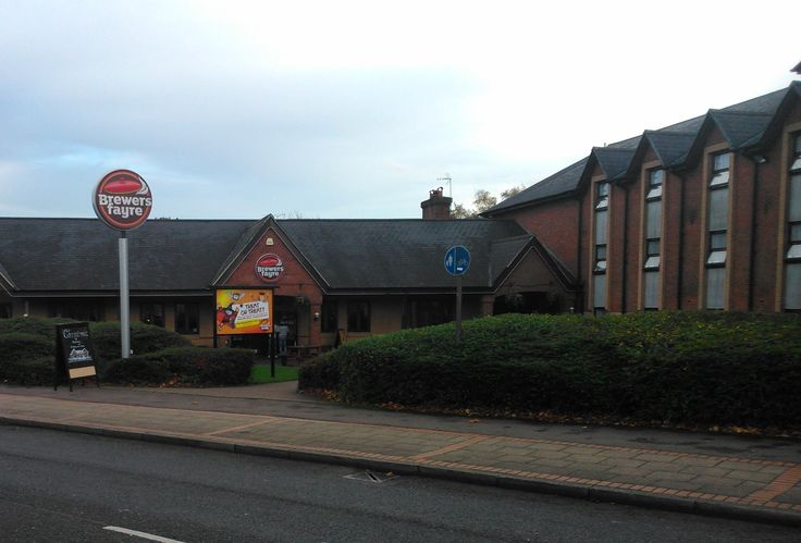 The most important part of any business park - the pub. Brewers' Fayre at Birmingham Great Park, Rubery.
