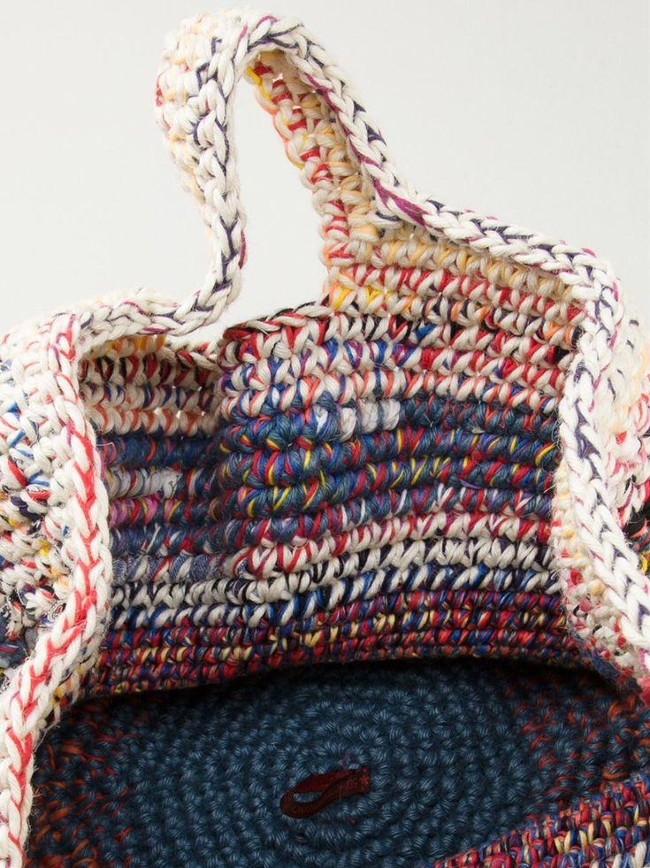 Daniela Gregis Woven Tote - - Farfetch.com Clothing, Shoes & Jewelry : Women : Handbags & Wallets http://amzn.to/2lvjsr9