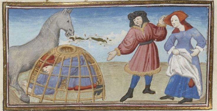 « Livre appelé Decameron , aultrement surnommé le Prince Galeot », de « JEHAN BOCCACE », traduction exécutée sur une traduction latine par « LAURENT DE PREMIERFAIT » | Gallica