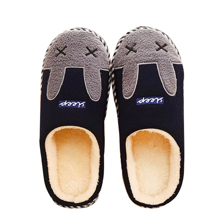 Cheap slipper shoes for men, Buy Quality slipper beach directly from China slipper women Suppliers: New Faux Rabbit Fur House Slippers Fashion Winter Warm Women Ear Indoor Slippers High Quality Soft Plush Ladies Home Shoes