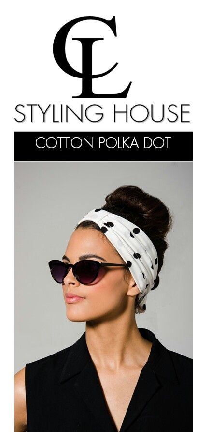 CL New Collection  Summer Range inspired by the 1960's  CL Cotton Polka Dot Turban headband  Photography : Roche Permal Photography Assistant : Paul Bransby Model : Rene Uslter Makeup, Styling & Art Direction : Tara - Lee Delport #CL #PolkaDot #cotton #turban #headband #CLSTLYINGHOUSE #fashion #style #trends #capetown #SouthAfrica