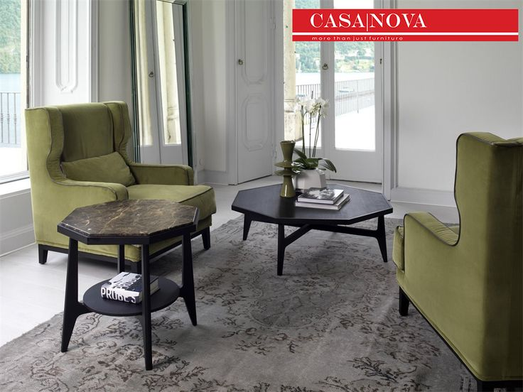 Coffee Table In Canaletta Walnut And Marble Or Wooden Top Design E
