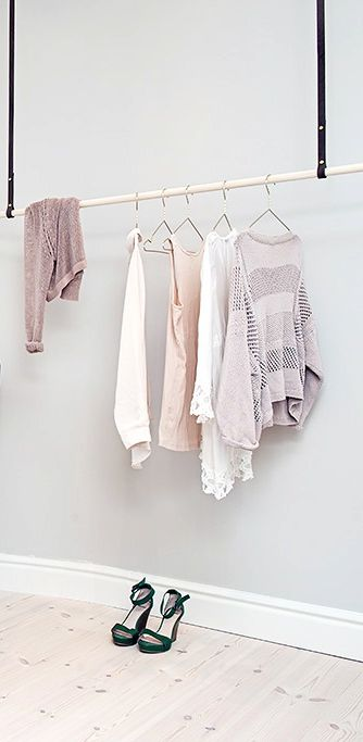 Minimalistic Clothing Rack