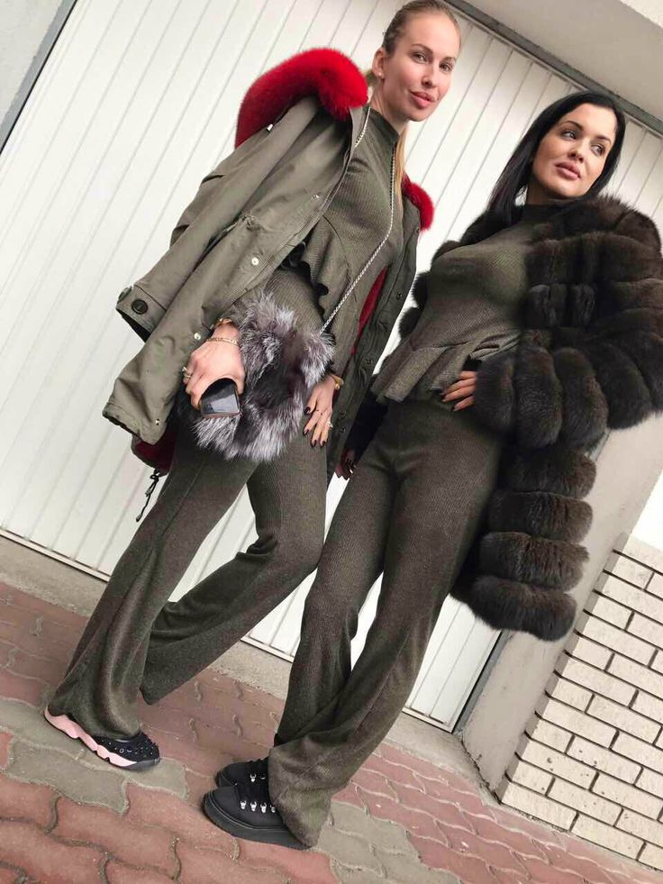 WM Ready to Wear, High Street Fashion Looks, Luxury Tracksuit, Fur Parka, Fur Jacket