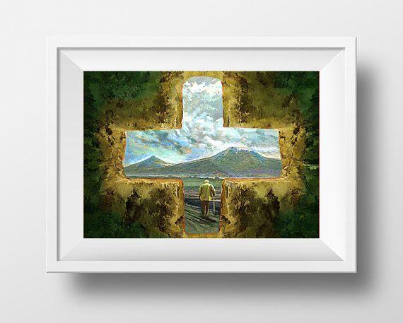 Painting of Mt. Ararat
