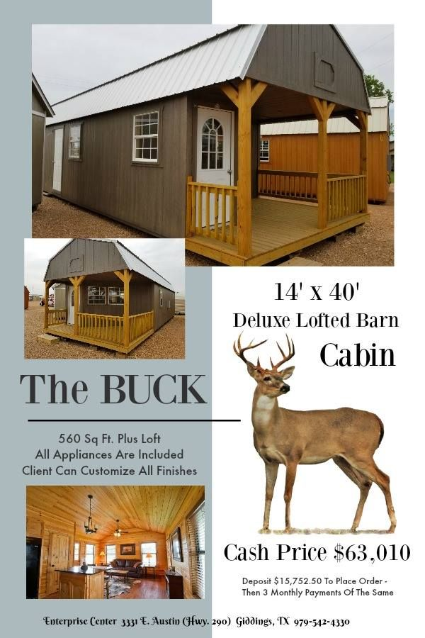 Pin by Consulting Tara on Custom Finished Portable Cabins | Lofted