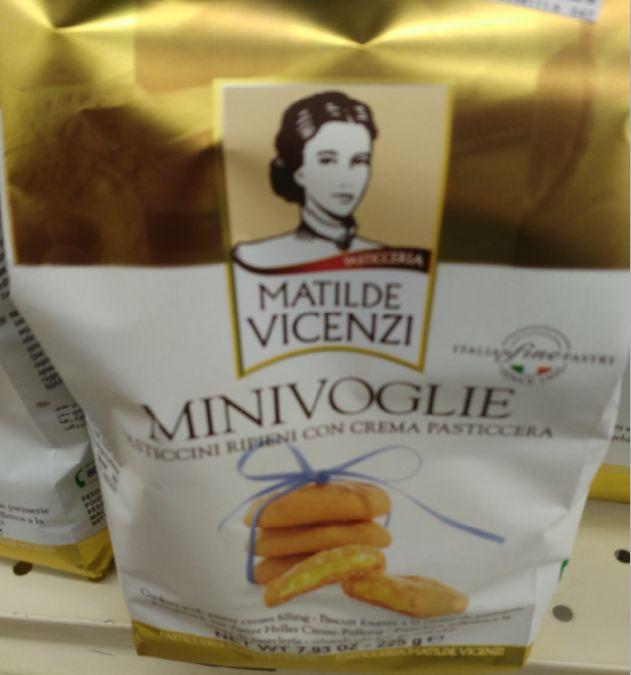 Matilde Vicenzi Mini Voglie Vanilla Cookies