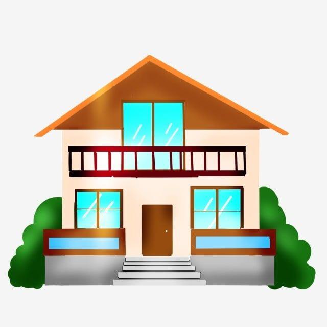 Gambar Villa Rumah Kuning Ilustrasi Kuning Rumah Kartun Png Dan Psd Untuk Muat Turun Percuma Ilustrasi Kartun Png