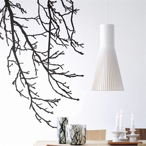Branches wall decoration