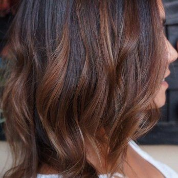 Great cut and color! Bronde long bob by Jackie! | Yelp