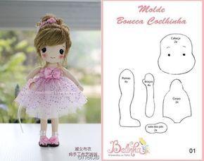 Выкройки текстильных кукол разных мастеров   all Dolls