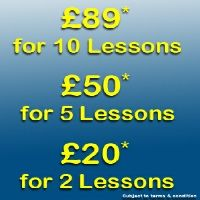 All Seasons Driving School Terms and Conditions:  *The 10 lesson offer is split into 2 parts, the pupil will have 6 lessons at the beginning (taken in 2 hour slots), and the remaining 4 lessons in the 2 weeks before the practical driving test with normal lesson rates charged in between. The term lesson is a duration of 1 hour, and the offer is for 2 hour sessions. There cannot be a break between the lessons of more than 2 weeks, otherwise the remaining lessons will become invalid, and any…