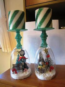 Merry Christmas Candle Crafts Ideas for Kids Children 2014