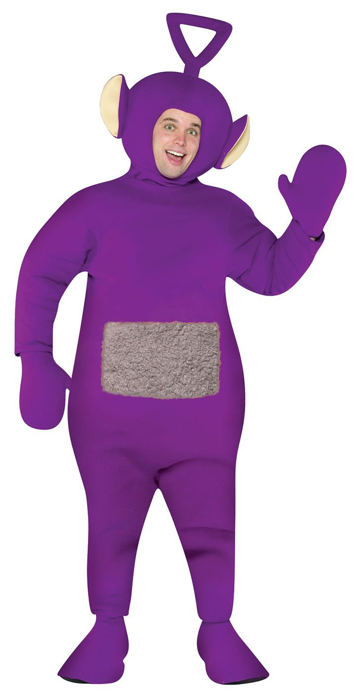 Teletubbies Tinky Winky Purple Costume Item 4223 Rasta Imposta