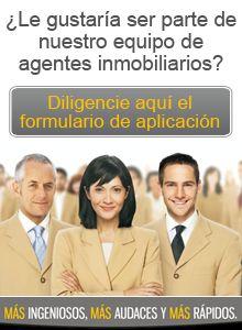 Haga parte de nuestro equipo de agentes inmobiliarios
