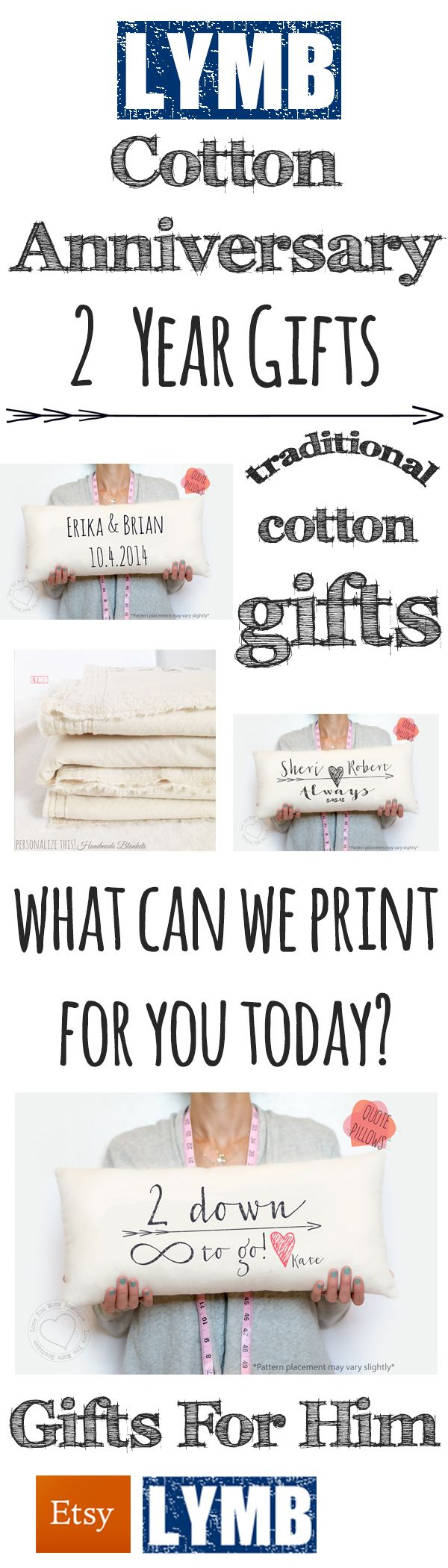 9 best 2 Year Anniversary Gifts for Him images on Pinterest | Cotton ...
