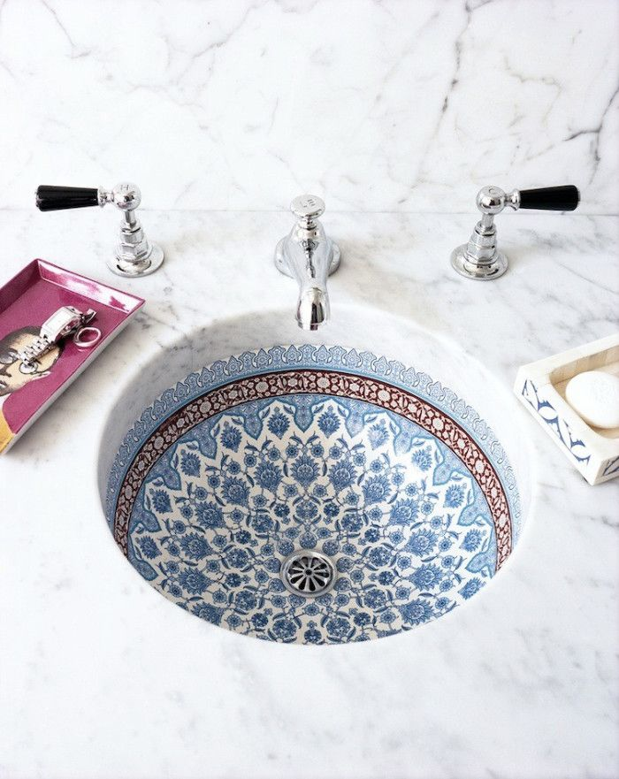 Pinterest: @eighthhorcruxx. Beautiful bathroom sink