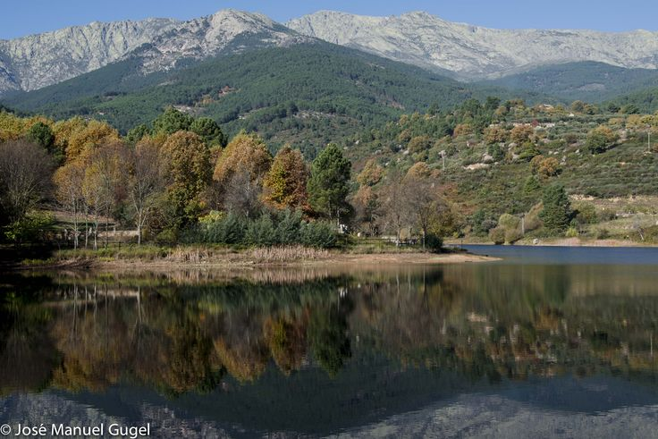 Sierra de Gredos desde Arenas de San Pedro