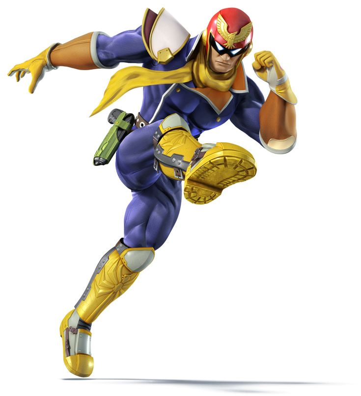 Captain Falcon - Super Smash Bros. for 3DS and Wii U