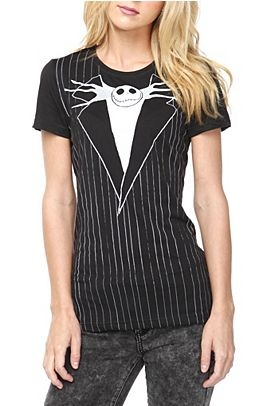 The Nightmare Before Christmas - Jack Suit T-Shirt - $26.50 at Hot Topic