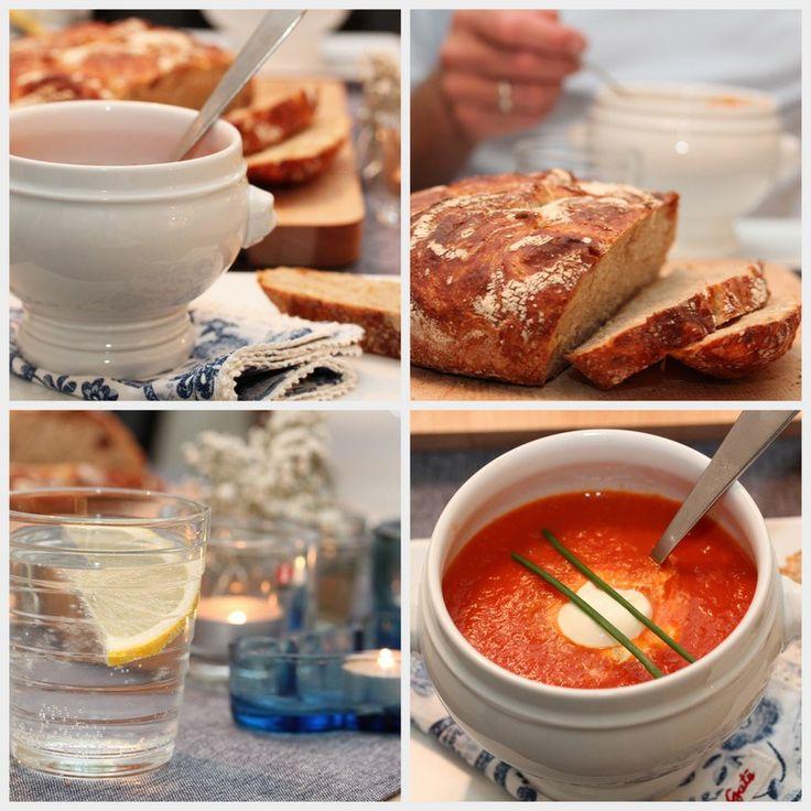 Tomatsuppe med appelsin og chili