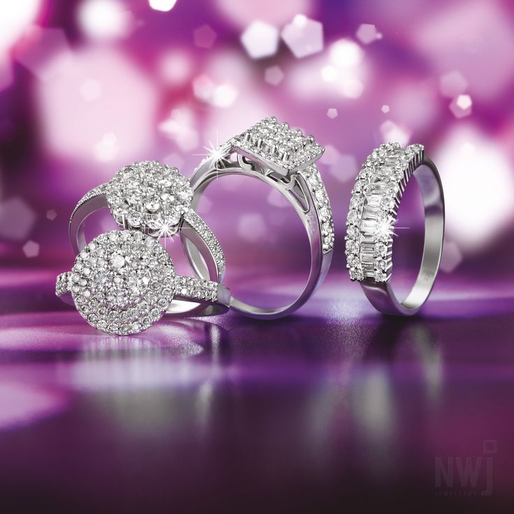 Brand Collection: 18ct Diamond Rings By NWJ *Valid until 1st Sept 2013