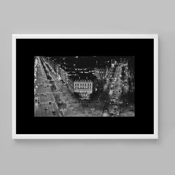 Paris photography prints Black and white paris by BonVoyageStudio