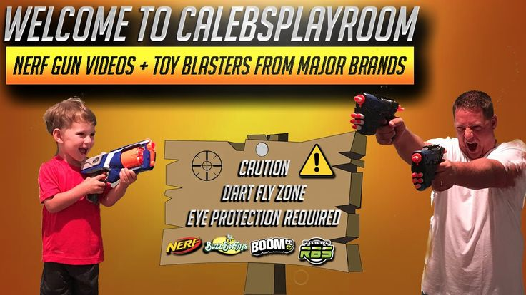 Welcome To Calebsplayroom ! Your Channel for Nerf & Toy Blasters where we film Nerf Gun Videos featuring In-depth Reviews, Unboxings, Firing / Range Tests, Modifications, Top Lists, Toy Gun Combos, Custom Paint Jobs, & a whole lot more. We not only focus on Nerf Toys we feature tons of Top Toys from all of the major Toy Blaster Brands & we are adding new companies to our featured playlists all the time.