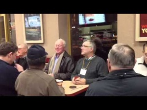 Hot Coffee, Warm Hearts: Elderly Singing Troupe Surprises Tim Hortons Patrons with Impromptu Rendition of 'Can You Feel the Love Tonight?' - Jan 10th 2013