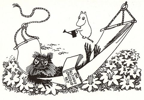 Muskrat  -   from the Moomin  books by Tove Jansson