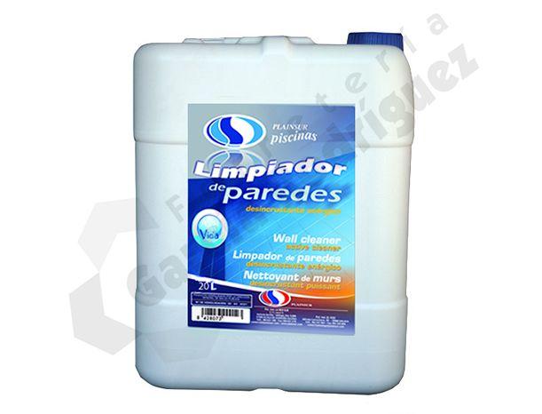 Limpiador De Paredes 20l Limpiador Detergente Pequenas Piscinas