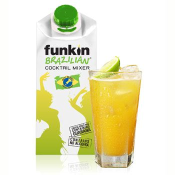 Fruit puree brand Funkin has released a new tropical mixer, Funkin Brazilian, which it claims is the first cocktail mixer to contain guarana extract.