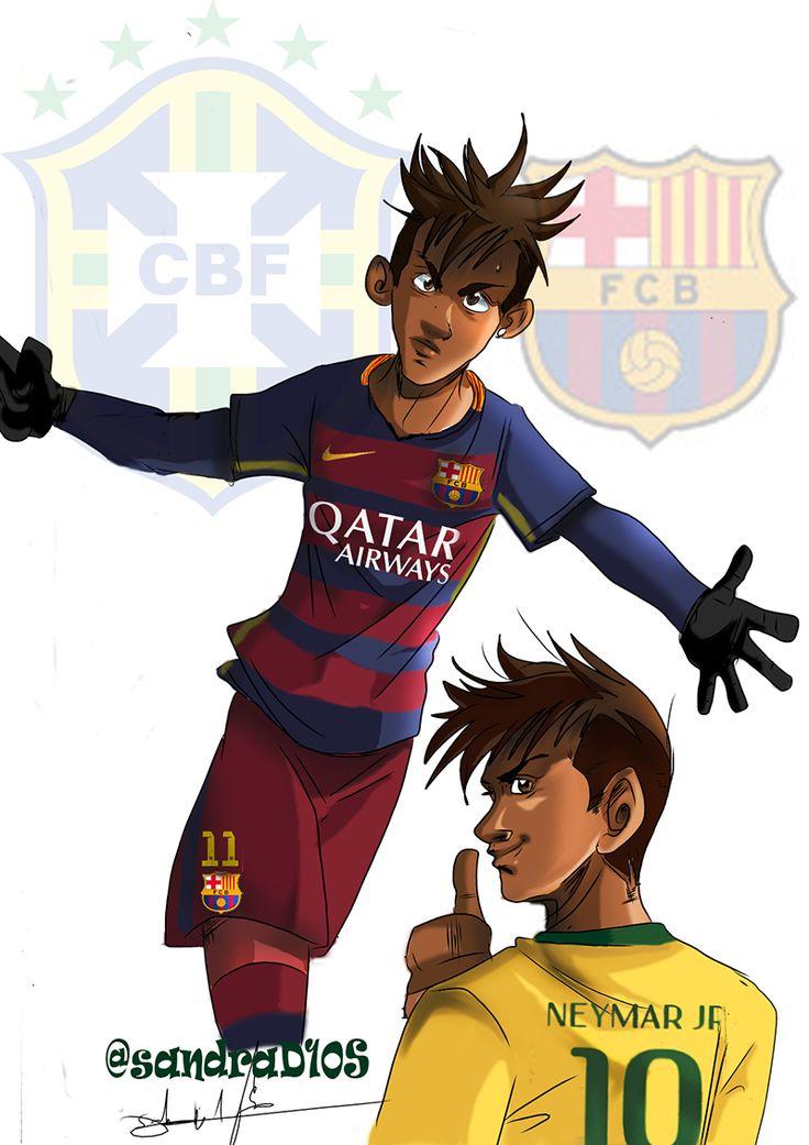"barcastuff on Twitter: ""Cartoon: Neymar #fcblive [by @sandrad10s] https://t.co/YoLxBYFVuu"""