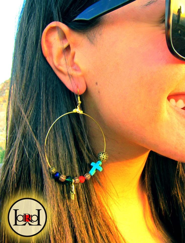 Lucky multicolor earrings
