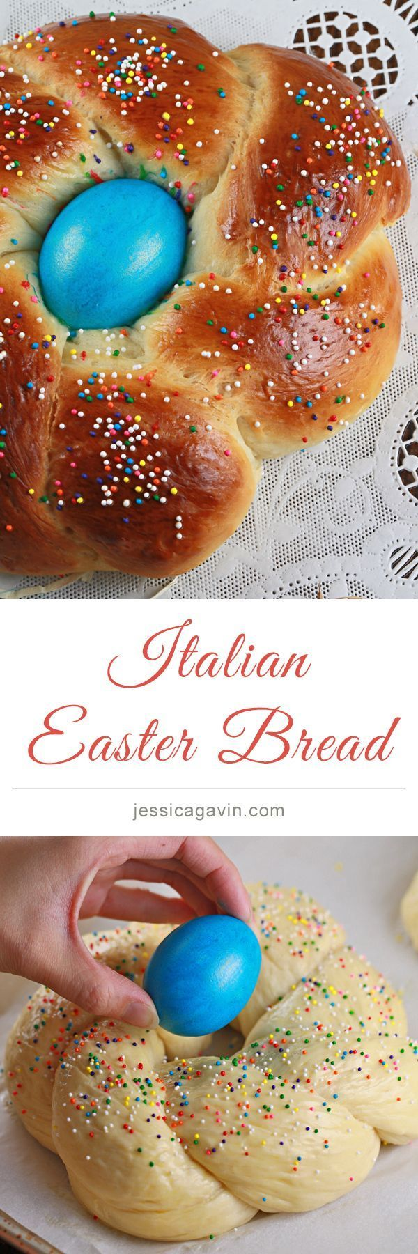 Delicious Italian Easter Bread Recipe | jessicagavin.com