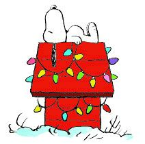 Free Christmas snoopy Clip-art Pictures and Images
