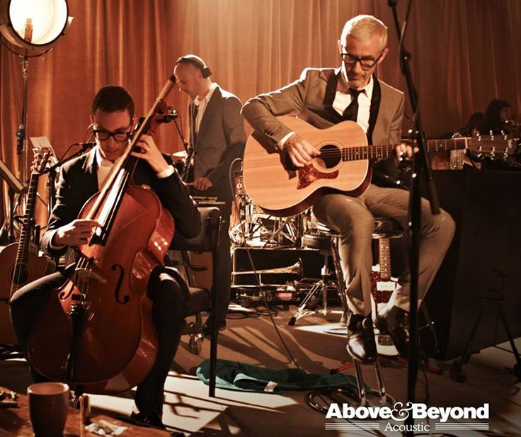 In just a few moments EST / 1 PM PST), the Above & Beyond acoustic documentary from Vice's THUMP will be premiering, Their entire acoustic performance was ...